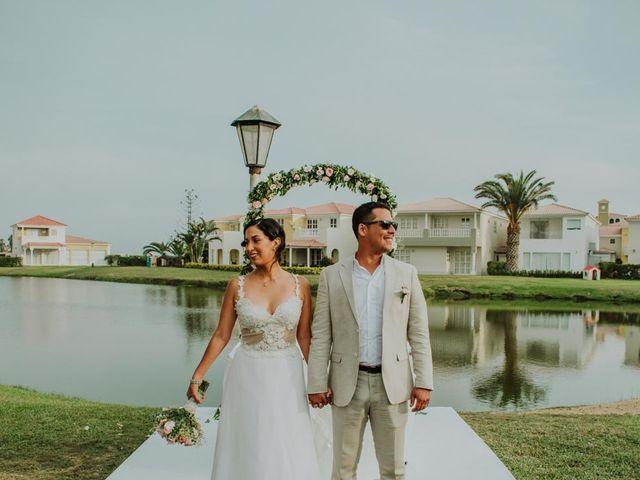 El matrimonio de Erika y Manuel