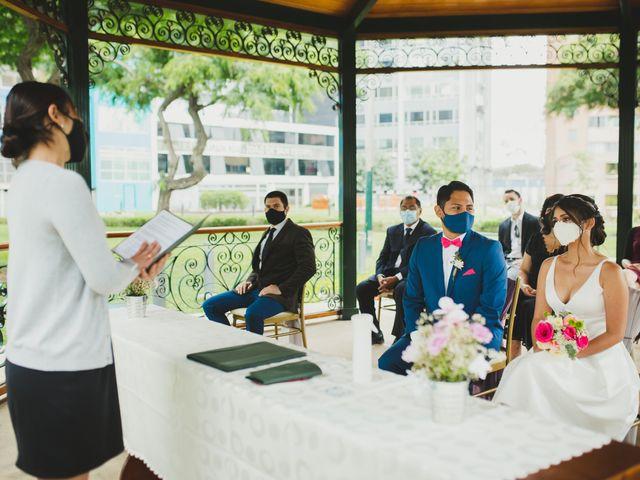 El matrimonio de Daniel y Denisse en San Isidro, Lima 17