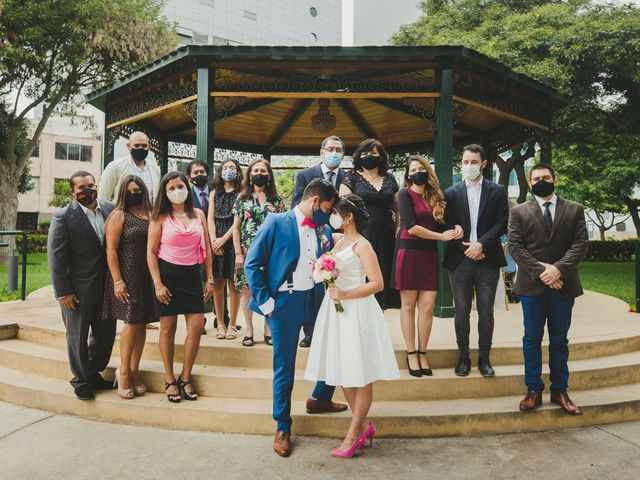 El matrimonio de Daniel y Denisse en San Isidro, Lima 28