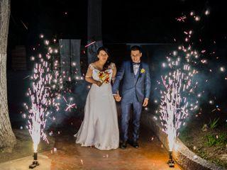 El matrimonio de Fiorella y Stivie