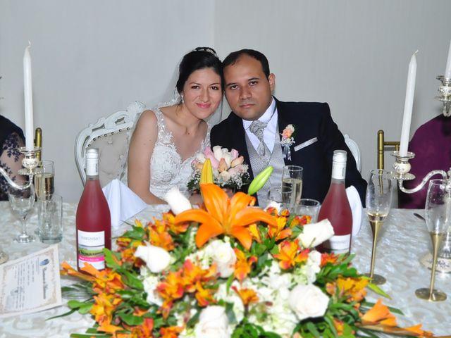 El matrimonio de Daniela y Wesley