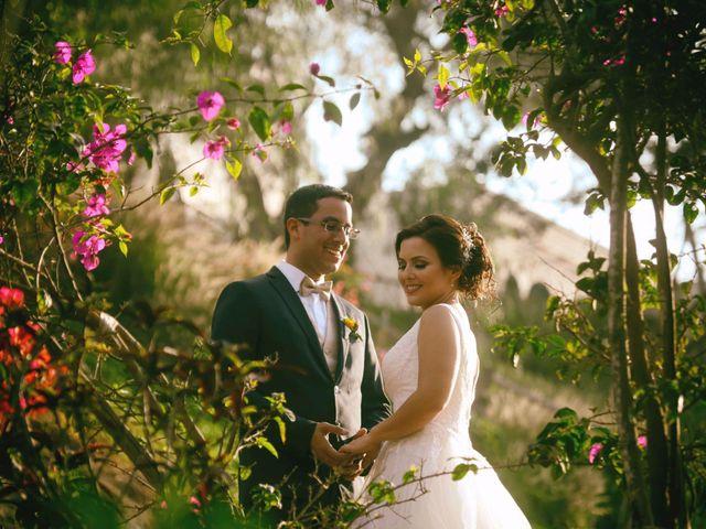 El matrimonio de Melina y Antonio