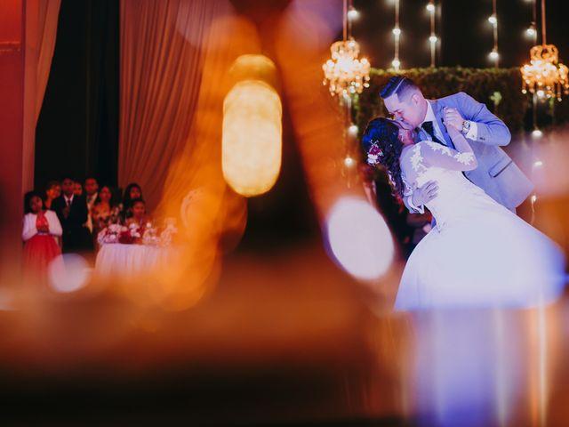 El matrimonio de Angela y Gino
