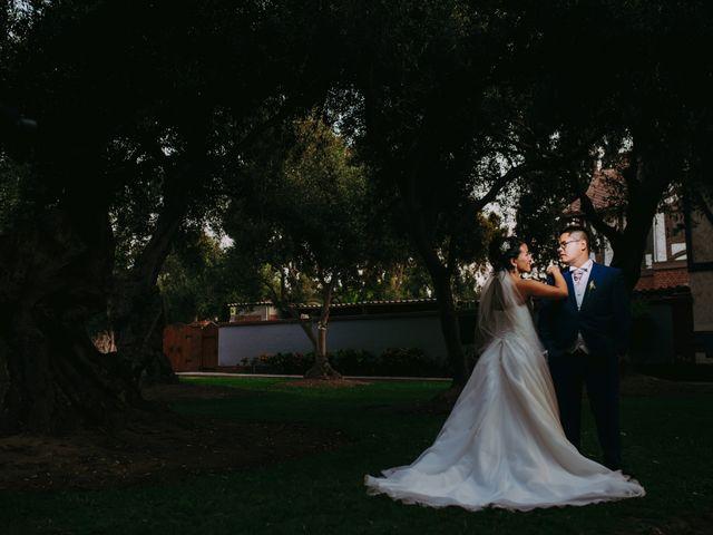El matrimonio de Mariella y David