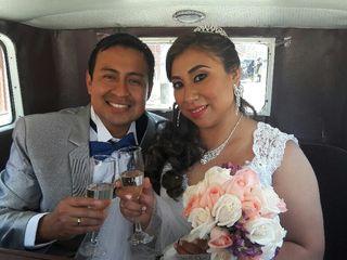El matrimonio de Lorena y Miguel