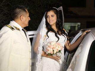 El matrimonio de Geraldine  y Luis  1