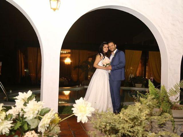 El matrimonio de Geraldine  y Luis