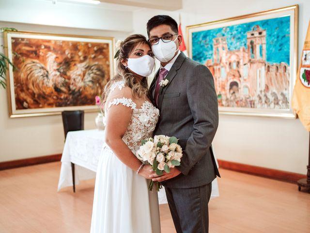 El matrimonio de Lizet y Humberto en Santiago de Surco, Lima 1