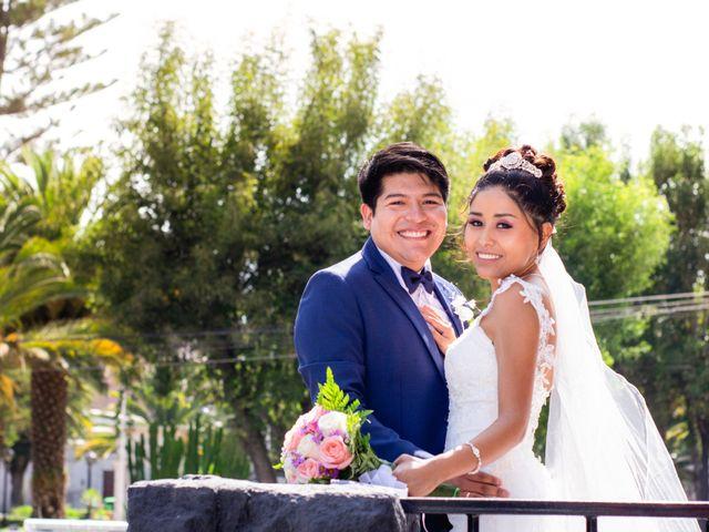 El matrimonio de Ángela y Pablo