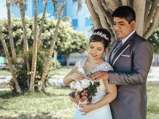 El matrimonio de Rogger y Nathaly