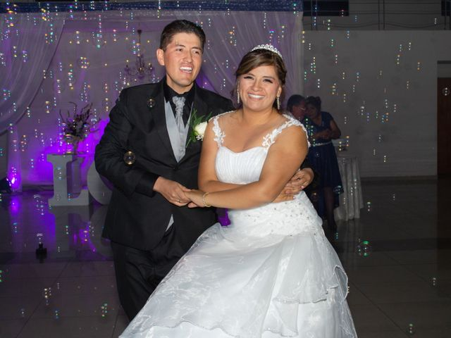El matrimonio de Sandra y José