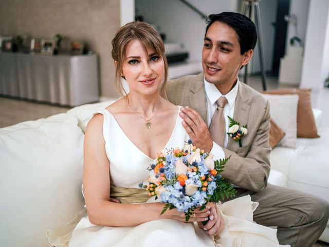 El matrimonio de Ksenia y Daniel en Santiago de Surco, Lima 1