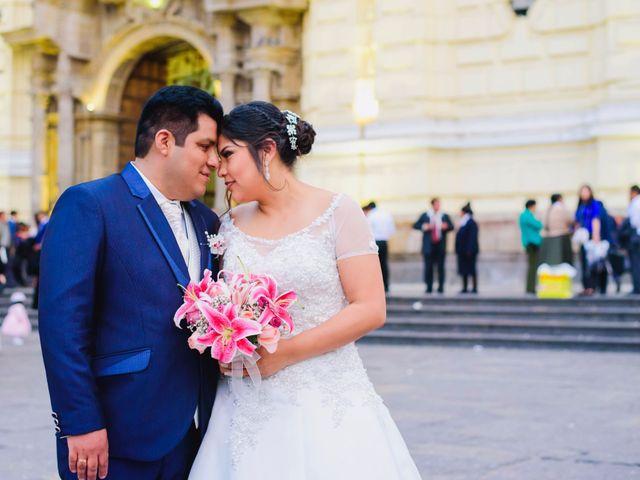 El matrimonio de Lidia y José
