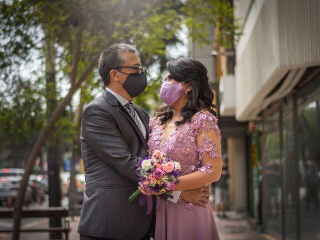 El matrimonio de Miriam y Hernando