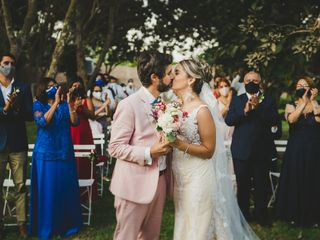 El matrimonio de Kriss y Diego