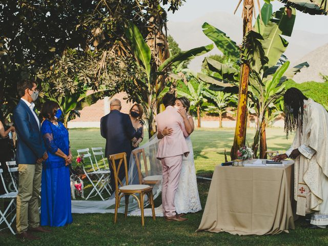 El matrimonio de Diego y Kriss en Pachacamac, Lima 73