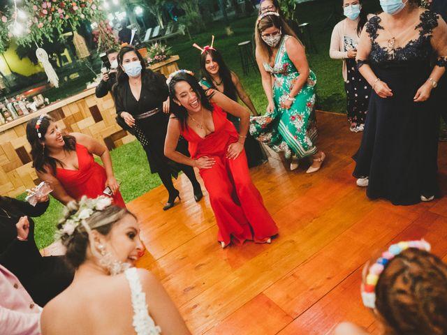 El matrimonio de Diego y Kriss en Pachacamac, Lima 112