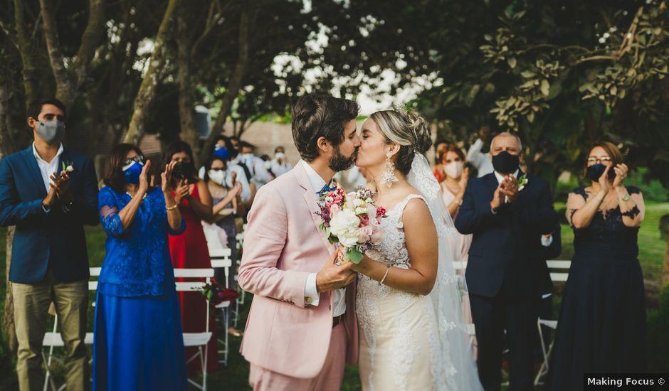 El matrimonio de Diego y Kriss en Pachacamac, Lima