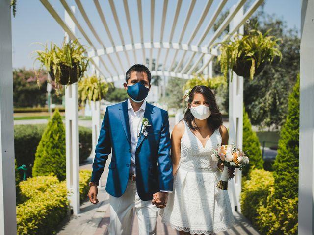 El matrimonio de Alex y Luzma en San Borja, Lima 1