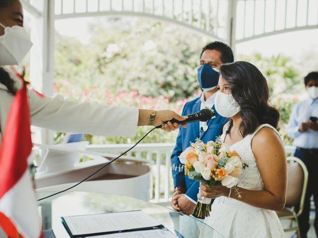 El matrimonio de Alex y Luzma en San Borja, Lima 8