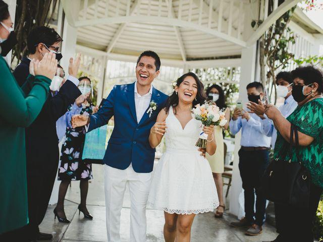 El matrimonio de Luzma y Alex