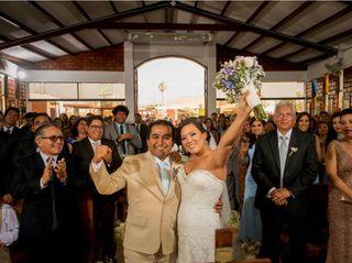 El matrimonio de Andrea y Alberto