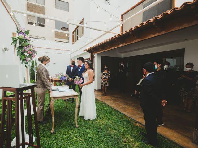 El matrimonio de Alonso y Brenda en San Borja, Lima 28