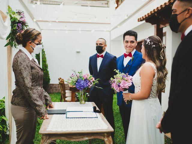 El matrimonio de Alonso y Brenda en San Borja, Lima 31