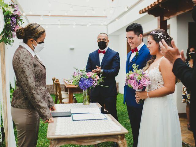 El matrimonio de Alonso y Brenda en San Borja, Lima 32