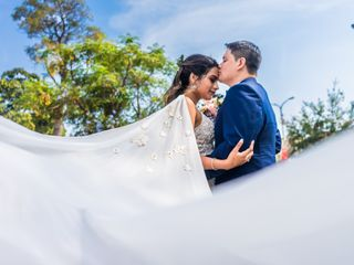El matrimonio de Alessandra y Milthon