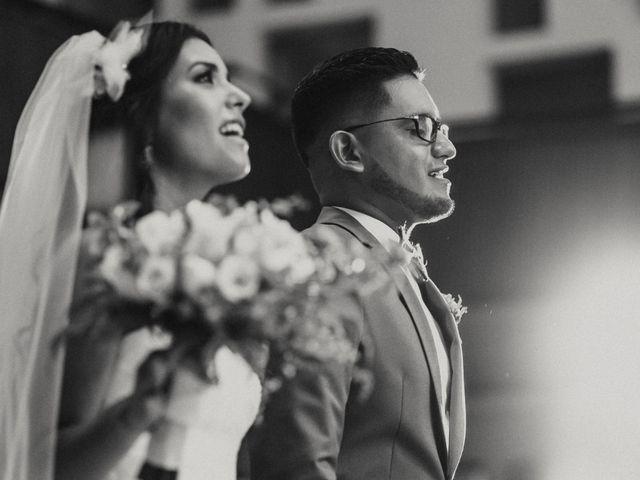 El matrimonio de Eva y César