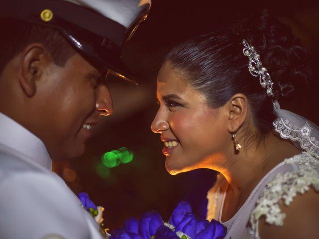 El matrimonio de Maria Del Carmen y Carlos