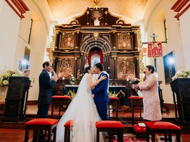 El matrimonio de Sandra y Mario