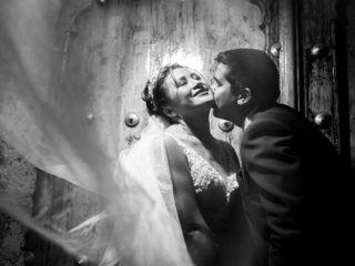 El matrimonio de Dannia y Walter