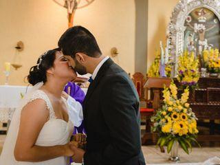 El matrimonio de Karina y Jorge