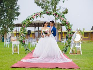 El matrimonio de Daniela y Frank