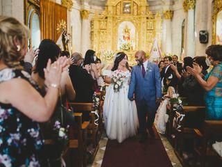 El matrimonio de Percy y Romina