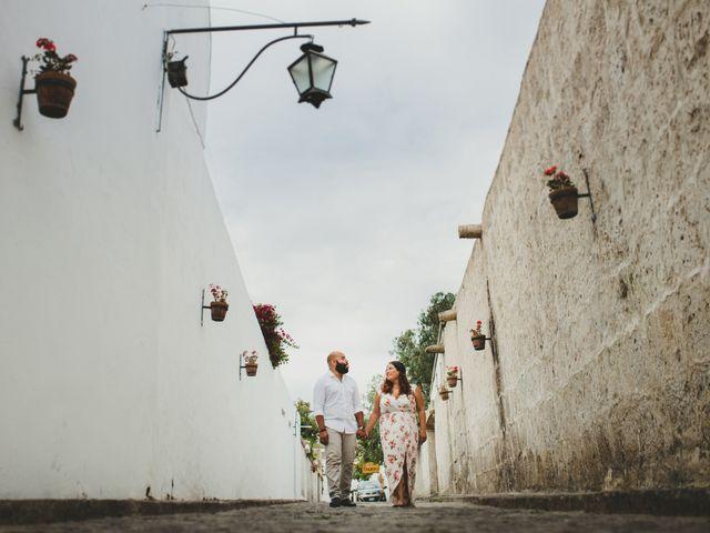 El matrimonio de Romina y Percy en Yanahuara, Arequipa 1
