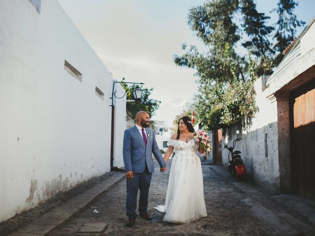 El matrimonio de Romina y Percy en Yanahuara, Arequipa 79