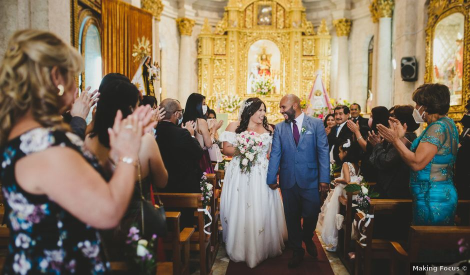 El matrimonio de Romina y Percy en Yanahuara, Arequipa