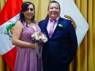 El matrimonio de Vanessa y Christian