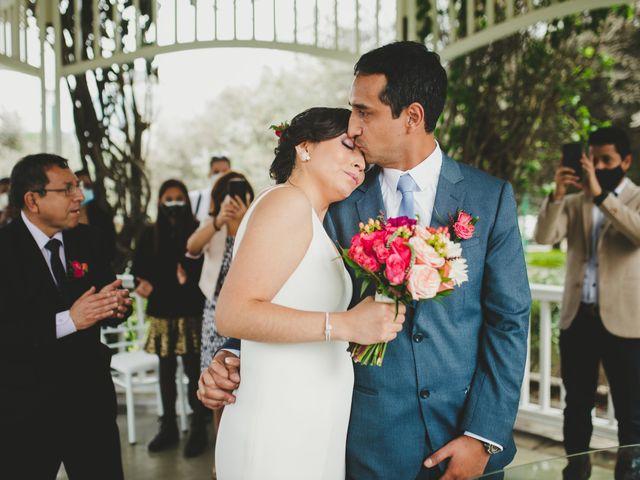 El matrimonio de Edison y Diana en San Borja, Lima 12