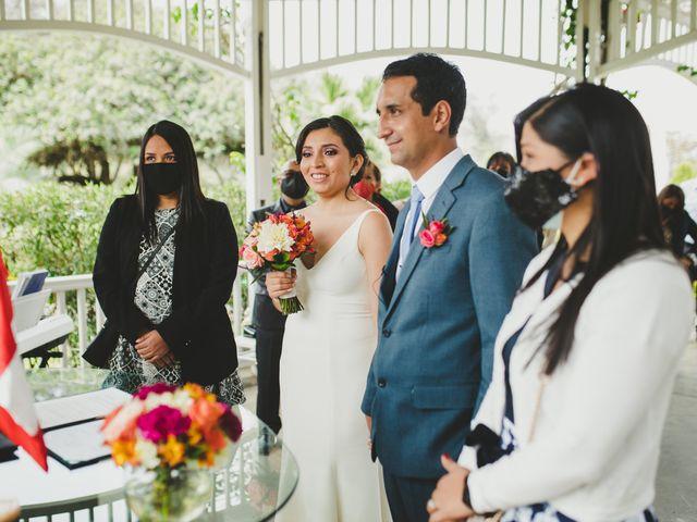 El matrimonio de Edison y Diana en San Borja, Lima 16