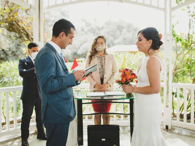 El matrimonio de Edison y Diana en San Borja, Lima 18