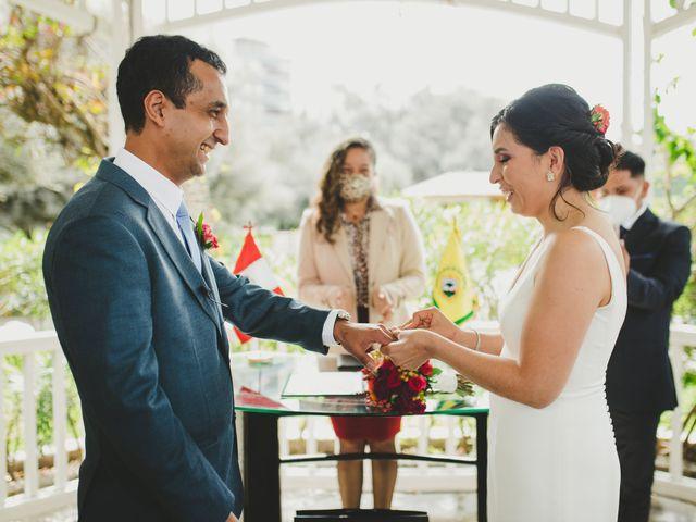 El matrimonio de Edison y Diana en San Borja, Lima 21