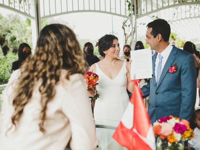 El matrimonio de Edison y Diana en San Borja, Lima 23