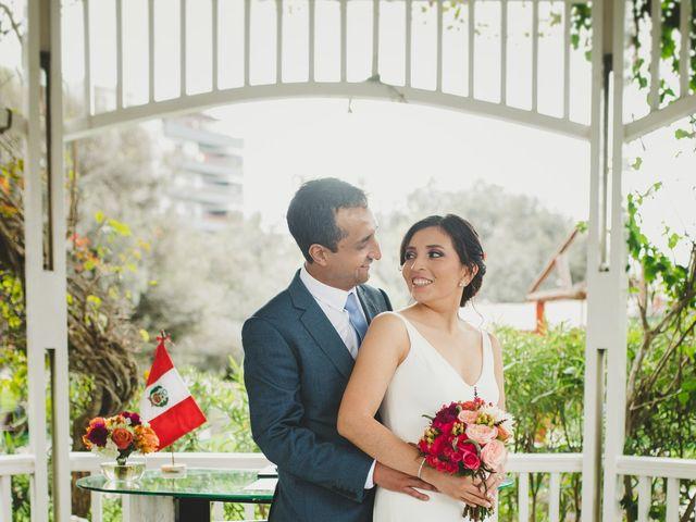 El matrimonio de Edison y Diana en San Borja, Lima 26