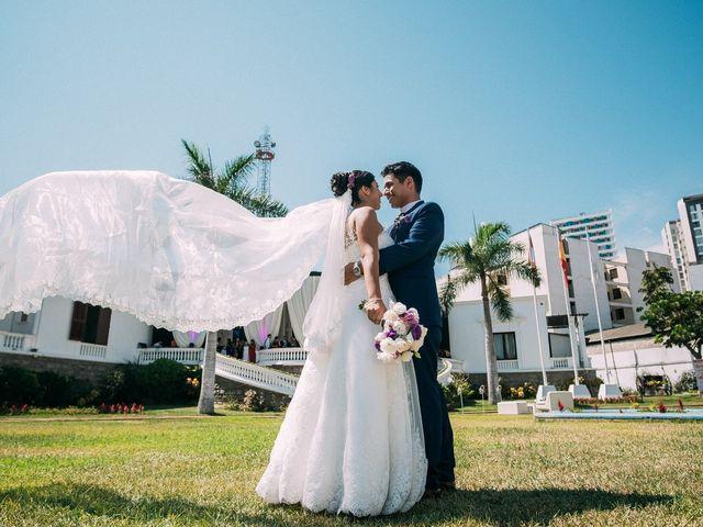 El matrimonio de Cinthia y Juan
