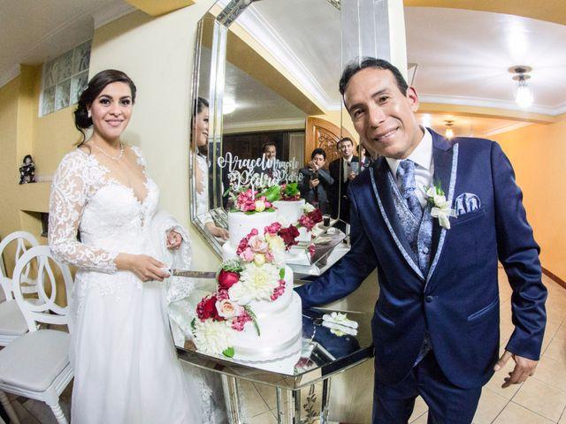 El matrimonio de Araceli y Pedro