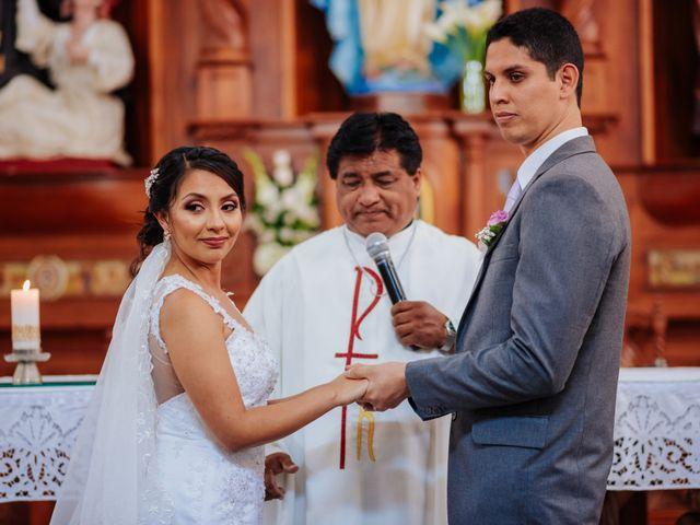 El matrimonio de Jacky y Carlos